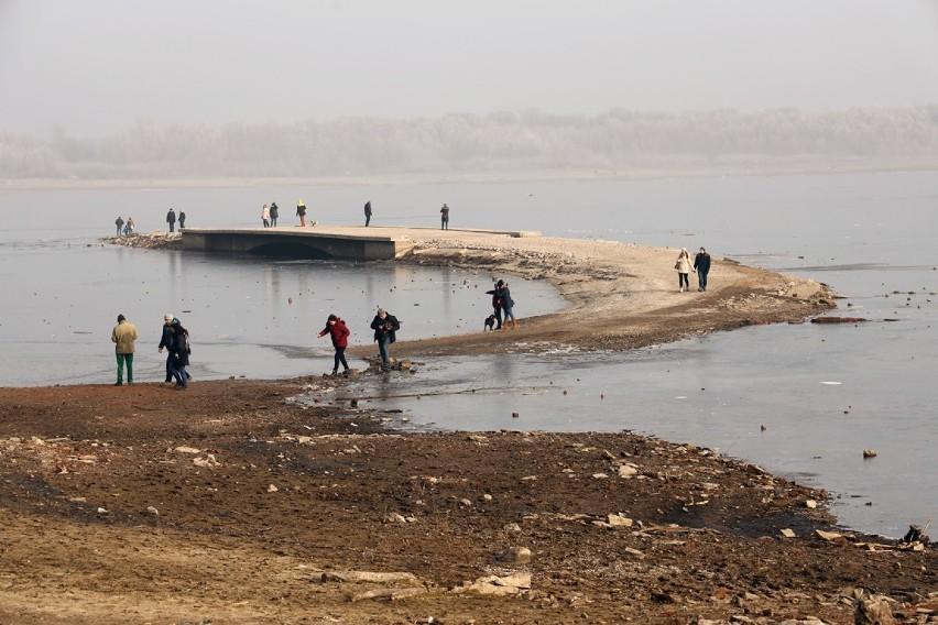 Most w Żarku na początku lutego 2020