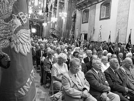 Wczoraj na Jasnej Górze modlili się uczestnicy 10. Pielgrzymki Kombatantów Związku Więźniów Politycznych Okresu Stalinowskiego.  Foto: VIOLETTA GRADEK