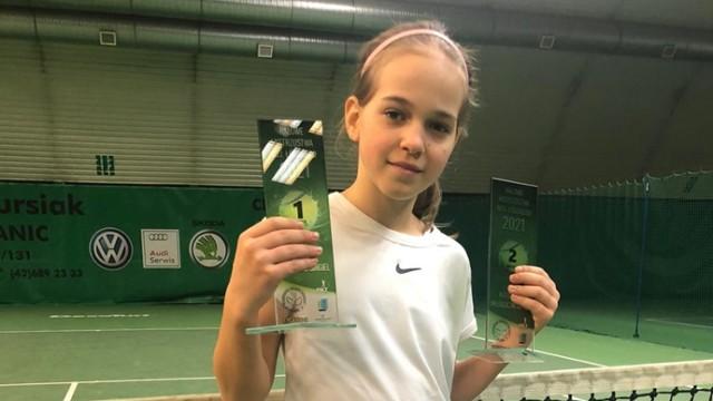 Młoda tenisistka z Bełchatowa po raz pierwszy w życiu rywalizowała w kategorii wiekowej do lat 14