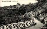 Park Sobieskiego, Ogród Różany, Harcówka i Wzgórze Gedymina w Wałbrzychu na starych zdjęciach.