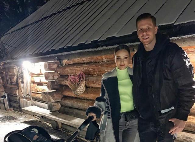 Marina Łuczenko i Wojciech Szczęsny podczas jednego z wypadów na Podhale