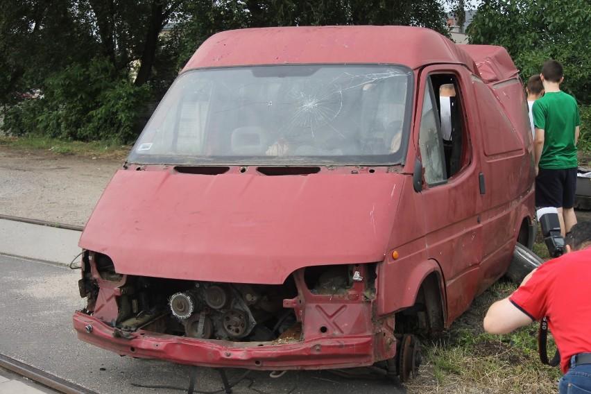 Wypadek na przejeździe kolejowym w Krotoszynie, ranni i zabici... na szczęście to tylko symulacja [ZDJĘCIA + FILM]