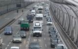 Wypadek na S8, Warszawa. Utworzył się korek na kilka kilometrów