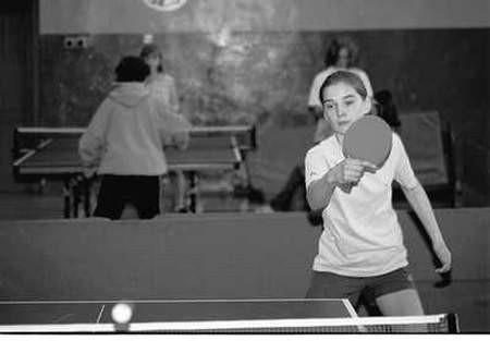 W pojedynku o wejście do finału w kategorii gimnazjów Anna Pięta pokonała Agnieszkę Helman.