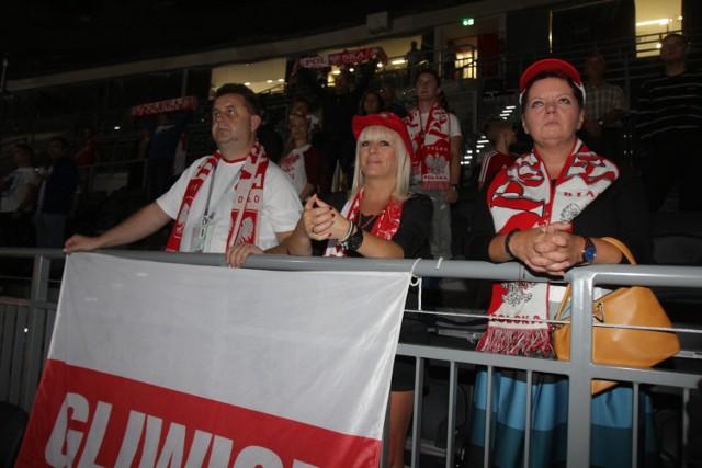 Strefa kibica w Gliwicach na meczu Japonia - Polska świecił pustkami