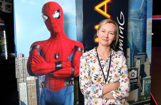 Film Spider-Man: Homecoming poleca Magdalena Orszulak, kierownik kina Helios w kieleckiej Galerii Echo.