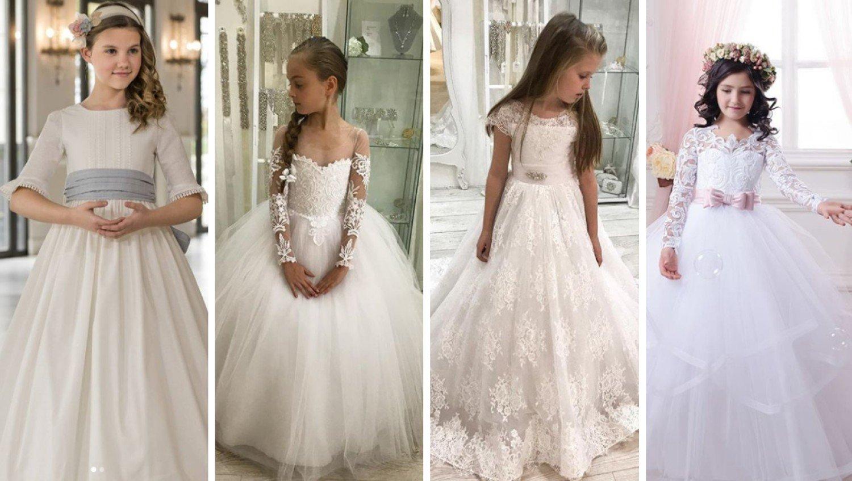 d4b26c1a2c Komunia Mały ślub Najmodniejsze Sukienki Komunijne 2019