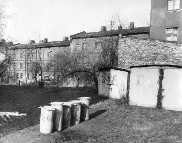 Bytom, Miechowice, osiedle. Fot. Jacek Tomeczek. Luty 1995