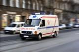 Polkowice: Zderzenie dwóch aut i potrącenie rowerzysty