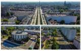 Znane i mniej znane budynki i miejsca w Częstochowie z lotu ptaka