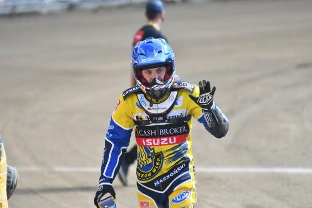 Szymon Woźniak startuje w Stali czwarty sezon. To już jego trzeci uraz wykluczający go ze startów w meczu ligowym żółto-niebieskich.