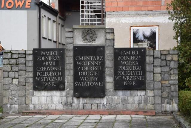 Cmentarz żołnierzy radzieckich w Sieradzu