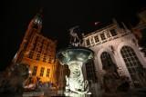 Fontanna Neptuna rozbłysła złotą barwą. Gdańsk dołączył do akcji walki z rakiem u dzieci