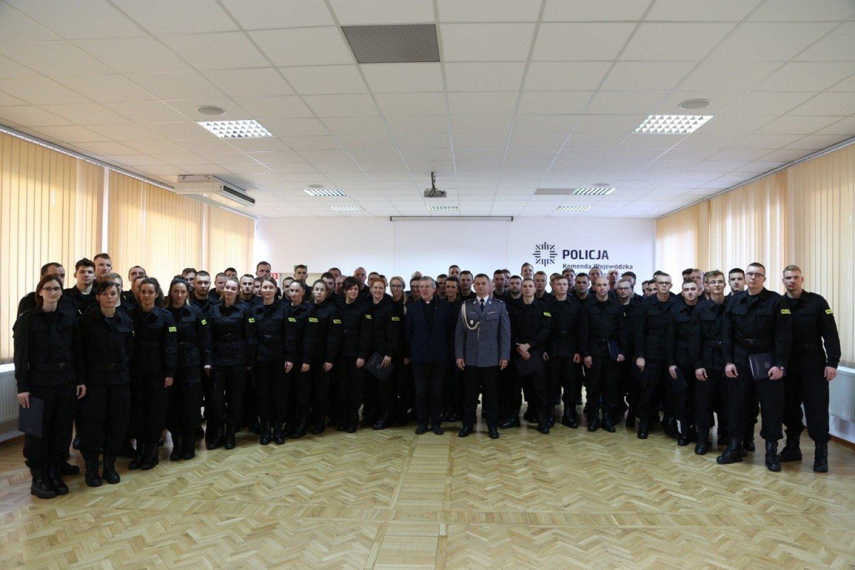 Nowi Policjanci W Kujawsko-Pomorskiem [zdjęcia
