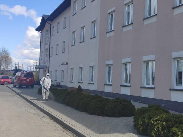 Dom Pomocy Społecznej w Bochni w czasie wiosennej epidemii koronawirusa