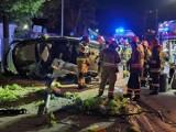 Kraków. Policja poszukuje świadków groźnego wypadku drogowego na ul. Mogilskiej