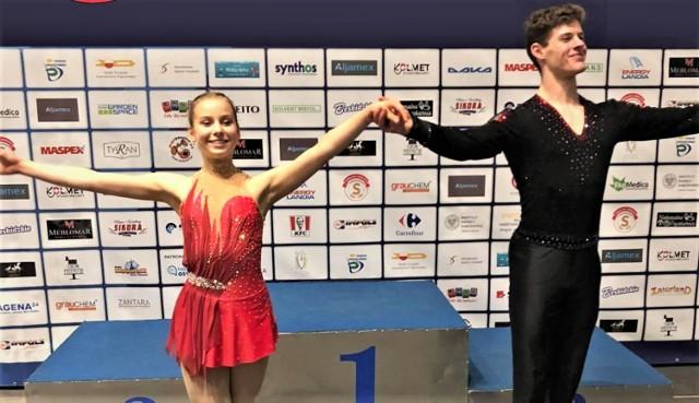 Nowa para sportowa ŁKS Soła Oświęcim Anna Hernik i Michał Woźniak jest postrzegana przez krajową centralę jako talenty na miarę areny międzynarodowej.