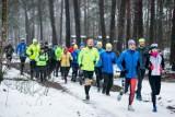 Run Pasja. Trening biegowy w Puszczy Bydgoskiej. Pobiegli, by pomóc koledze, Łukaszowi Pękale [zdjęcia]