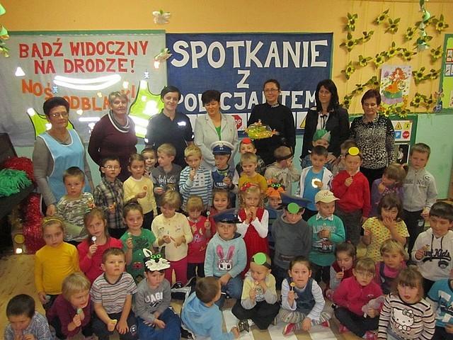 Policjantki z Brzozowa odwiedziły przedszkolaków