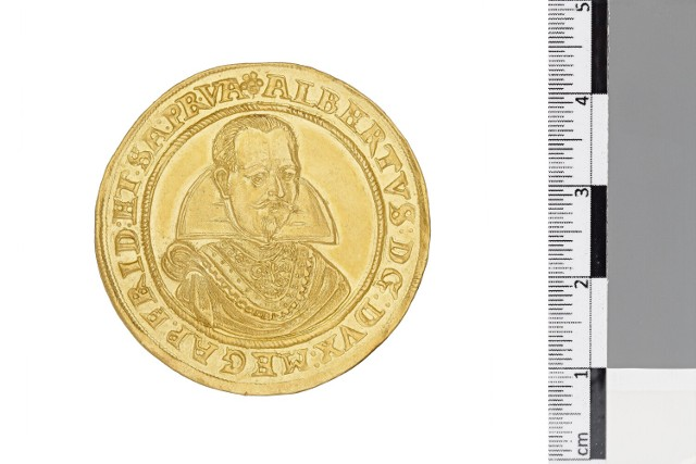 Złote dukaty żagańskich władców można oglądać m.in. w Muzeum Narodowym w Warszawie