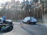 Raport drogowy: Kolejny wypadek na S3. Dwie osoby ranne. Ogromne korki
