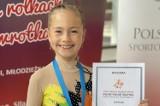 Łaski. 9-letnia Zosia z brązowym medalem mistrzostw świata w jeździe figurowej na rolkach [ZDJĘCIA]