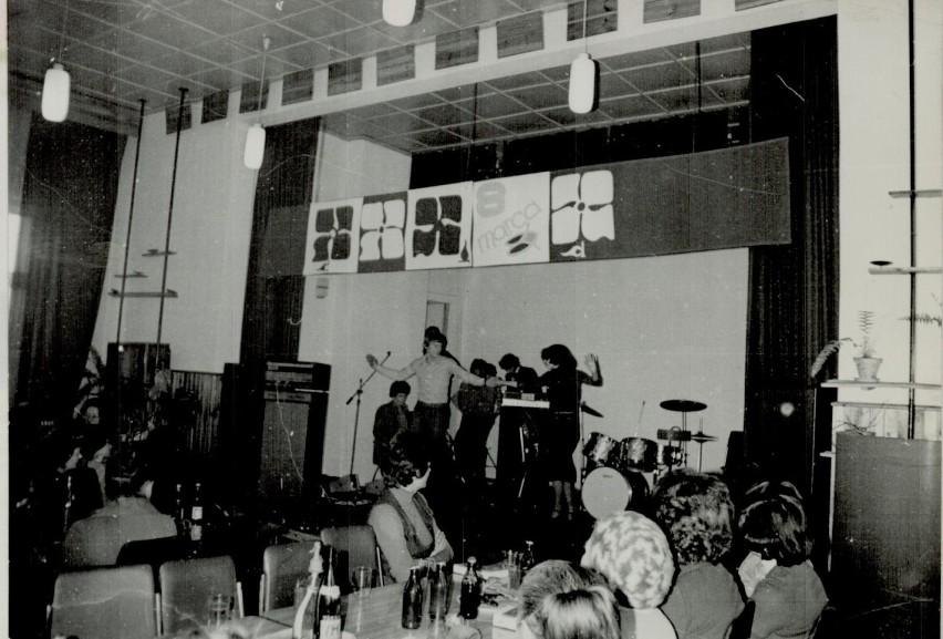 Rok 1978, Dzień Kobiet w szczecineckim Młodzieżowym Domu...