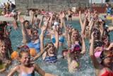 Aqua aerobik i inne atrakcje Kąpieliska Leśnego w Gliwicach ZDJĘCIA