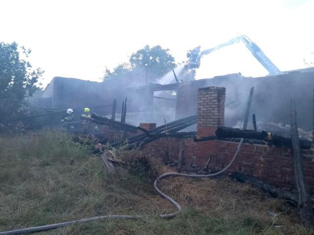 W niedzielę (28 czerwca) w Gubinku wybuchł pożar stodoły.