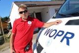 Polski Dubaj, plaża i szef ratowników z Jarosławca mówi o pułapkach Bałtyku ROZMOWA