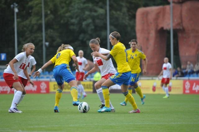 Mecz Polska - Szwecja w Starogardzie