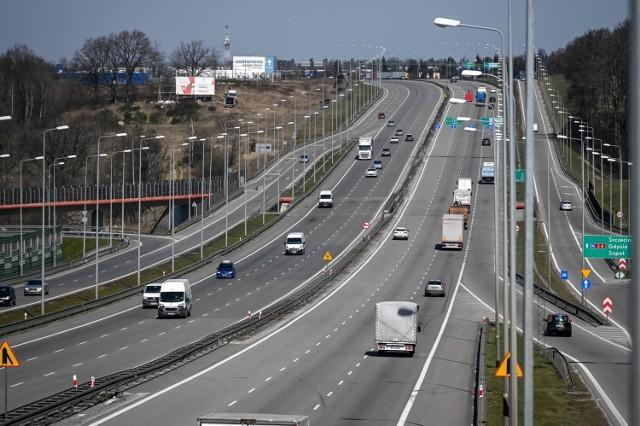 Jest umowa na system sterowania ruchem dla dróg S6 i S7! Na zdj. Obwodnica Trójmiasta – droga ekspresowa S6