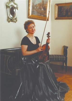 Małgorzata Łazowska jest nie tylko cenioną skrzypaczką, ale też wyjątkową nauczycielką.