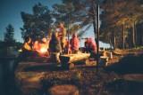 Czterech mieszkańców Chełma spotkało się przy ognisku. Otrzymali mandaty