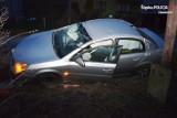 Pijany 16-latek wjechał samochodem do rowu w gm. Pilica. Miał 2,7 promila alkoholu.
