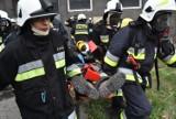 """Pożar kontrolowany na terenie Expo w Sosnowcu. Ćwiczenia Komapanii Odwodowej nr 1 """"Będzin ZDJĘCIA"""