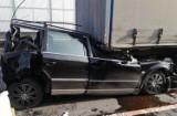 Wypadek na DK1 w Pszczynie. Ciężarówka wjechała w tył osobówki. Pięć osób rannych