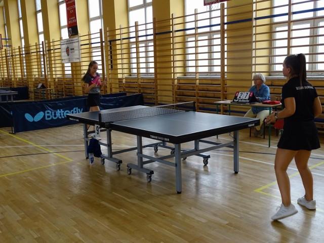 W Chełmnie zorganizowano Mistrzostwa Województwa Kujawsko-Pomorskiego w tenisie stołowym w kilku kategoriach wiekowych