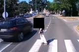 Niebezpieczna sytuacja na pasach w Szczecinku. Kierowcy i piesi - uważajcie! [wideo]