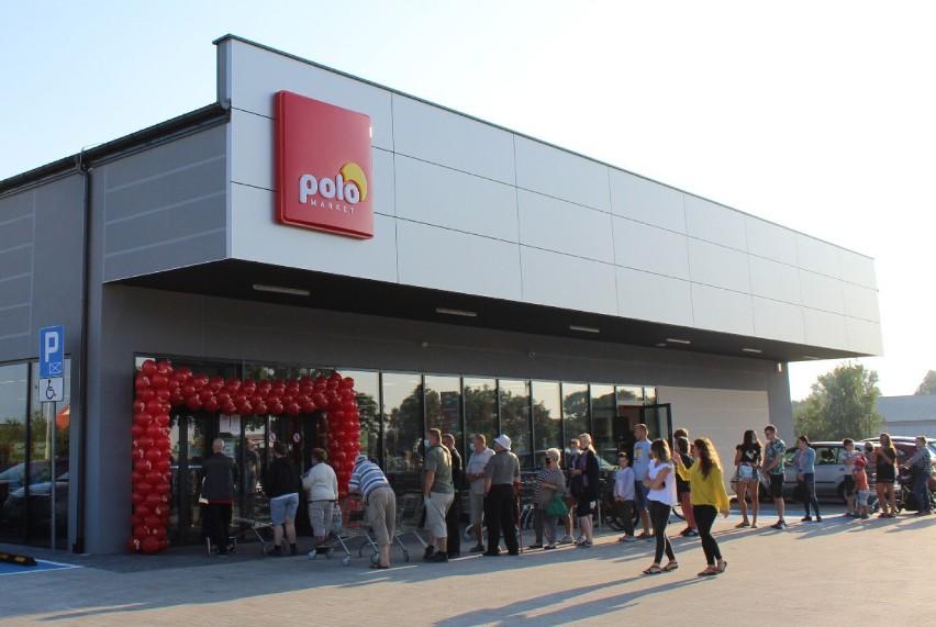 Otwarcie marketu w Golinie przyciągnęlo mieszkańców