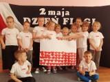 Święto Flagi w przedszkolu numer 19 w Ostrowcu. Były piosenki o Polsce i biało- czerwonego wyklejanki (ZDJĘCIA)