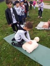 W SP nr 7 w Lęborku ustanawiano rekord w sztuce udzielania pierwszej pomocy  [ZDJĘCIA]
