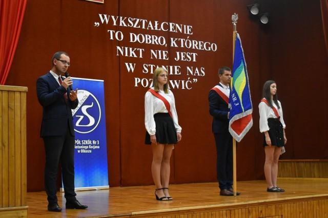 Rozpoczęcie roku szkolnego 2021/2022 w Zespole Szkół nr 3 w Olkuszu