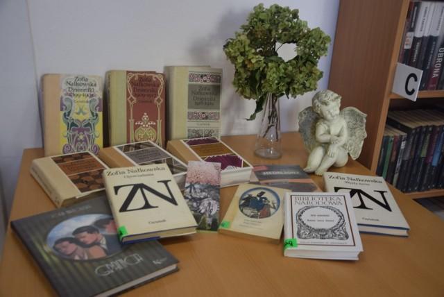 Wystawa książek Zofii Nałkowskiej w filii nr 3 MBP w Tychach przy ul. Batorego