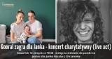 Gooral wystąpi w Chrzanowie. Charytatywny koncert dla Janka Kozuba walczącego z SMA