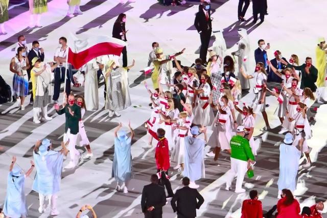 23.07.2021. Otwarcie igrzysk olimpijskich w Tokio.  Zobacz kolejne zdjęcia. Przesuwaj zdjęcia w prawo - naciśnij strzałkę lub przycisk NASTĘPNE