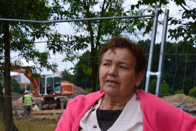 Leokadia Konopacka i inni świebodzinianie już nie mogą się doczekać, jak Park Miejski będzie gotowy