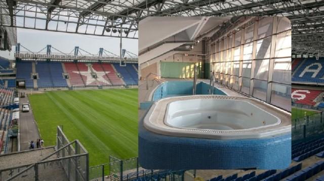 Na stadionie Wisły pod trybuną południową mają powstać gabinety odnowy biologicznej typu wellness.