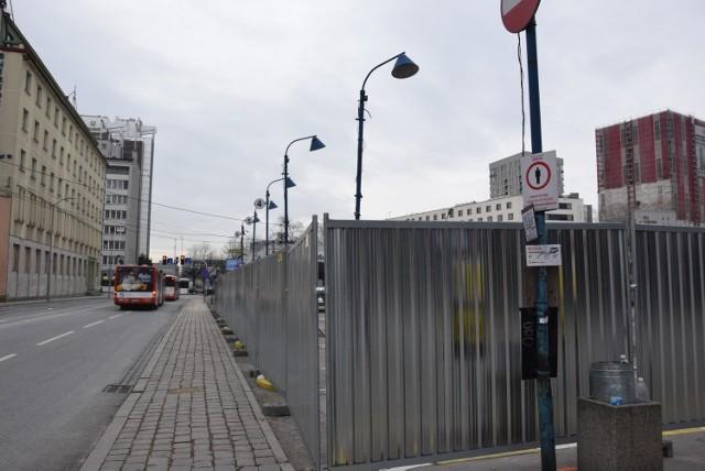 Stary dworzec autobusowy w Katowicach przy ulicy Skargi