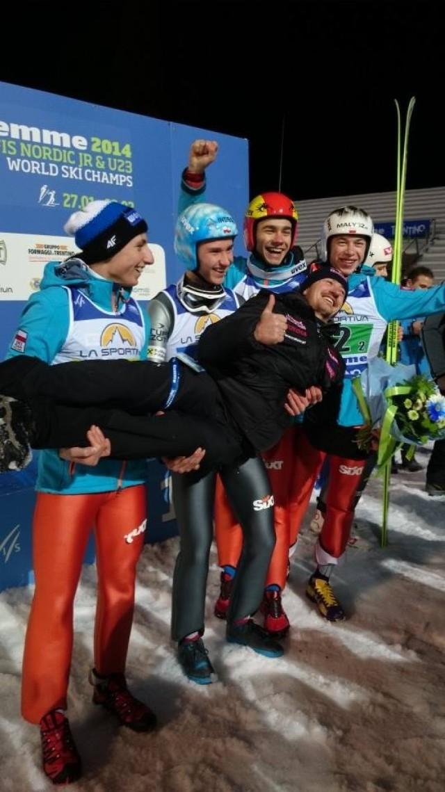 Mistrzostwa Świata Juniorów w skokach narciarskich. Złoto dla Polaków